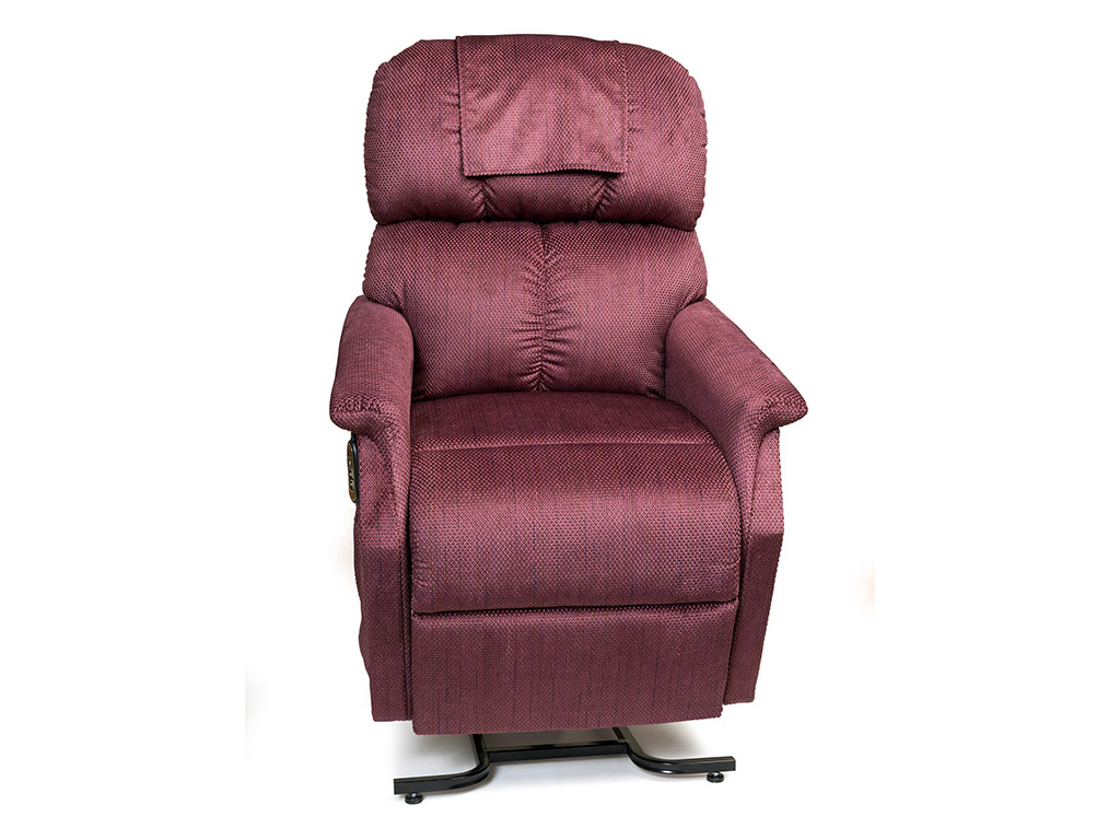 Photo of Comforter lift chair in Cabernet.
