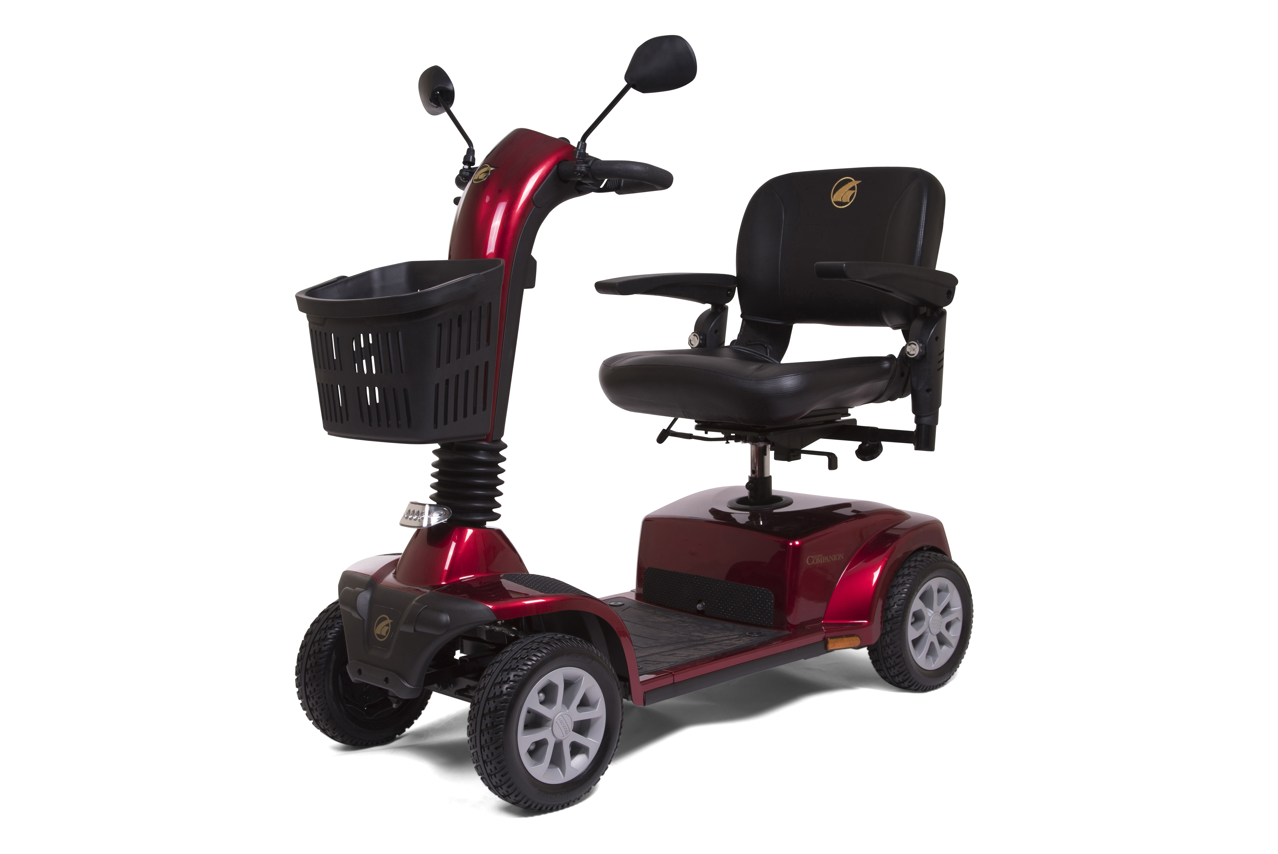 Photo of the Companion 4-Wheel Full Size Scooter.