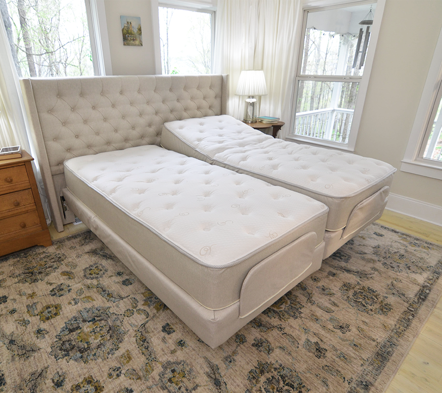 Photo of the Flexabed Premier Full Adjustable Bed.