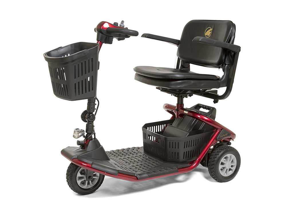 Photo of the LiteRider 3-Wheel Scooter.