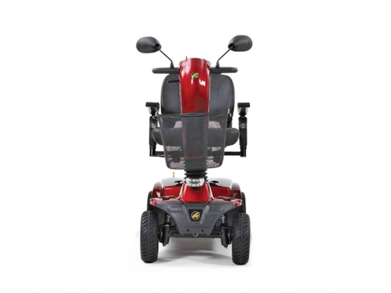Photo of the Companion 4-Wheel Full Size scooter from the back.