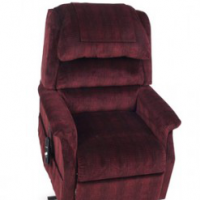 Photo of the Royal lift chair on white background. thumbnail