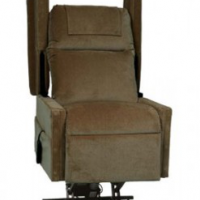Photo of the Transfer Lift Chair on white background.