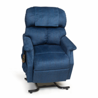 Photo of the Comforter lift chair in Admiral. thumbnail