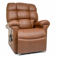 Photo of the Cloud lift chair in Bridle color. thumbnail