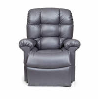 Photo of the Cloud lift chair in grey color. thumbnail