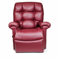 Photo of the Cloud lift chair in red color. thumbnail