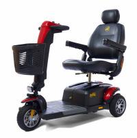 Photo of the Buzzaround LX 3 Wheel scooter.