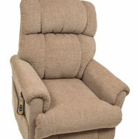 Photo of the Space Saver lift chair in sandstorm color. thumbnail
