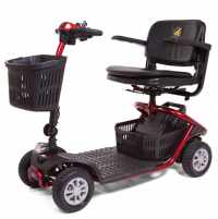 Photo of the LiteRider 4-wheel scooter.
