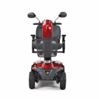 Photo of the Companion 4-Wheel Full Size scooter from the back. thumbnail