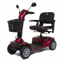 Photo of the Companion 4-Wheel Full Size Scooter. thumbnail