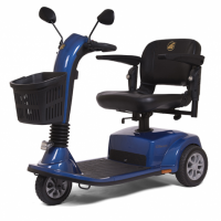 Photo of the Companion scooter in blue.