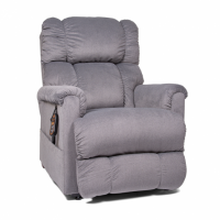 Photo of the Imperial lift chair in sterling color in sitting position. thumbnail