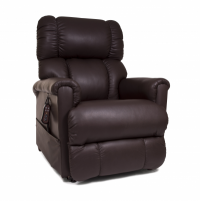 Photo of the Imperial lift chair in the Coffee Bean color in the sitting position. thumbnail