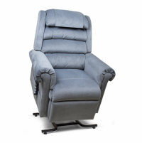 Photo of the blue Relaxer lift chair. thumbnail